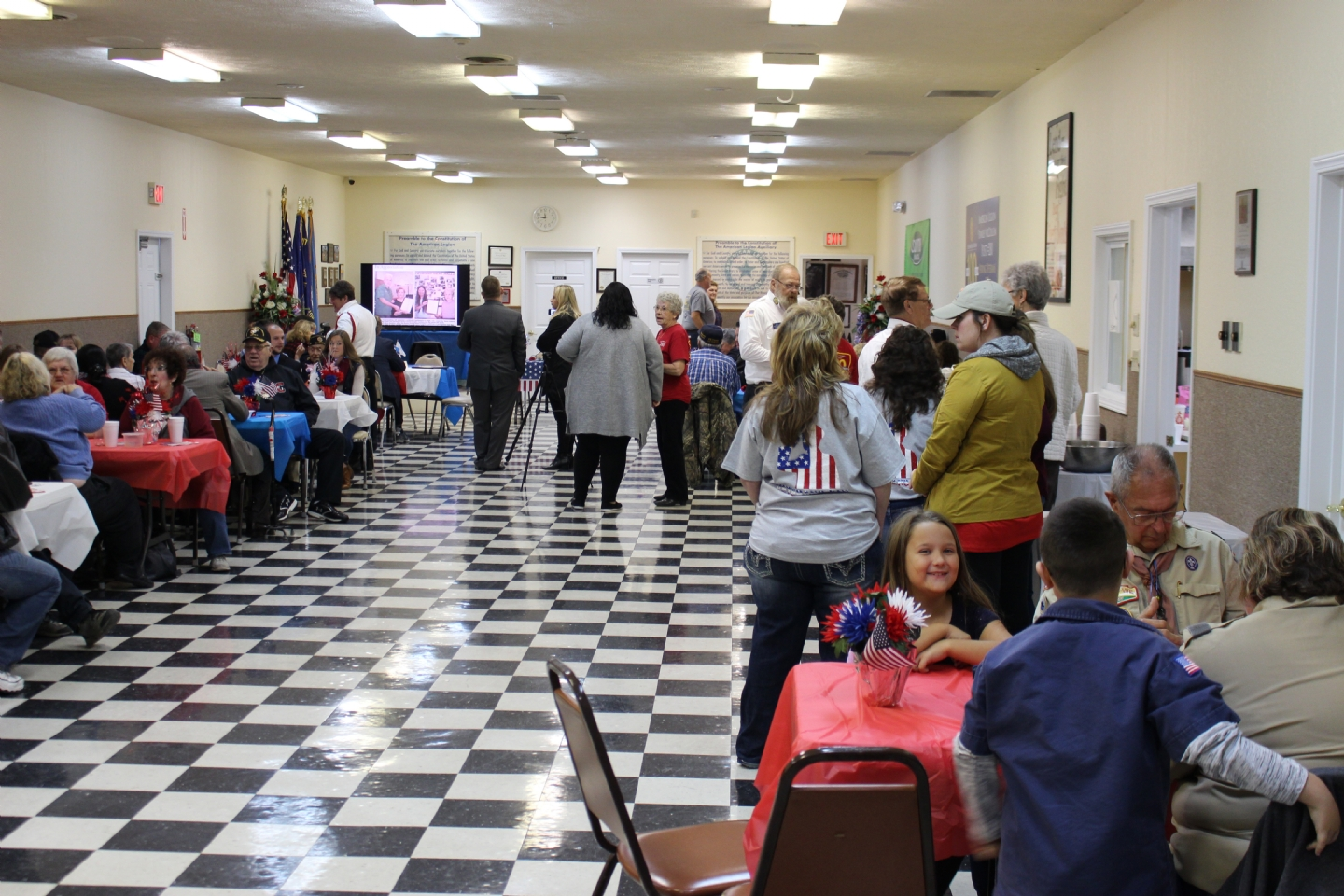 On Veteran's Day, November 11th 2018, the Benton American Legion Post 280 celebrated the American Legion Centennial. The highlight of this historic event was World War 2 Veteran, Carl Campanella, finally receiving the medals awarded him 73 years before.